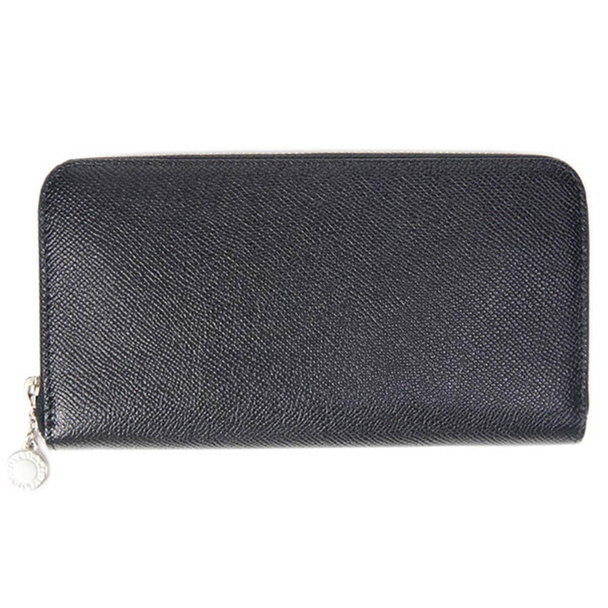 ブルガリ BVLGARI 財布 長財布 メンズ ラウンドファスナー CLASSICO クラシコ ブラック 20886