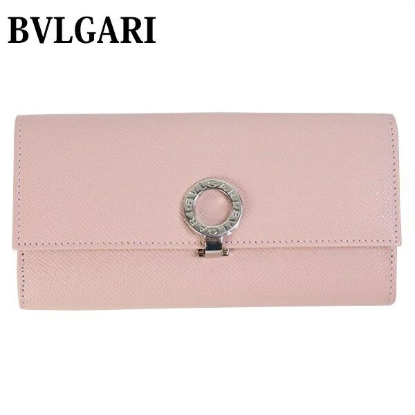 ブルガリ BVLGARI 財布 長財布 レディース 二つ折り BVLGARI BVLGARI ブルガリ ブルガリ ピンク 30417
