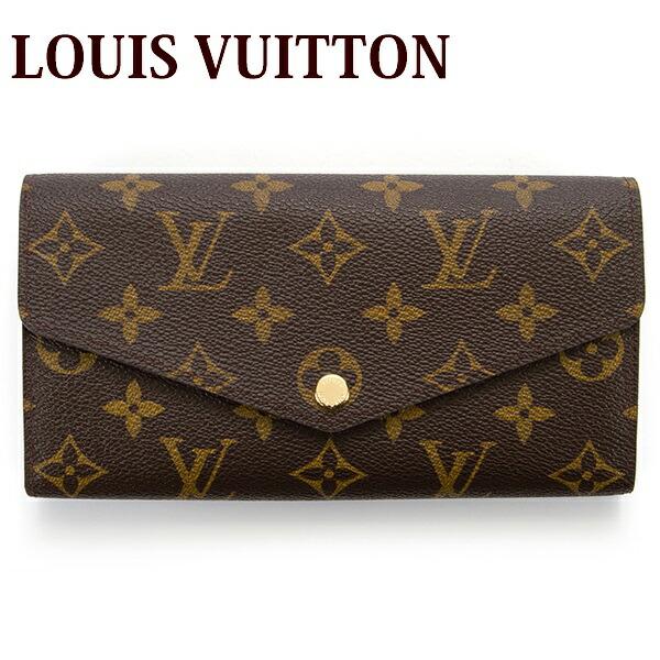 ルイヴィトン LOUIS VUITTON 財布 長財布 レディース ポルトフォイユ サラ モノグラム M60531