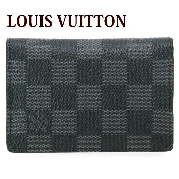 ルイヴィトン ルイ・ヴィトン LOUIS VUITTON カードケース メンズ 名刺入れ オーガナイザー・ドゥ・ポッシュ ダミエグラフィット N63143