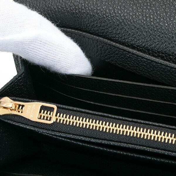 ルイヴィトン LOUIS VUITTON 財布 長財布 メンズ レディース ポルトフォイユ・サラ モノグラム・アンプラント ノワール M61182