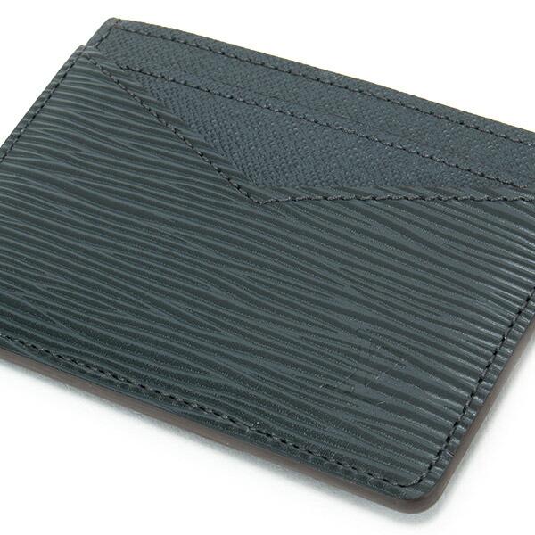 ルイヴィトン LOUIS VUITTON カードケース パスケース メンズ ネオ・ポルトカルト エピ ノワール M67210