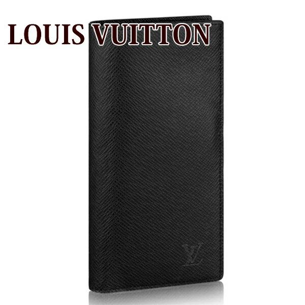 ルイヴィトン LOUIS VUITTON 財布 長財布 メンズ 二つ折り ポルトフォイユ・ブラザ タイガ ブラック ノワール M30501