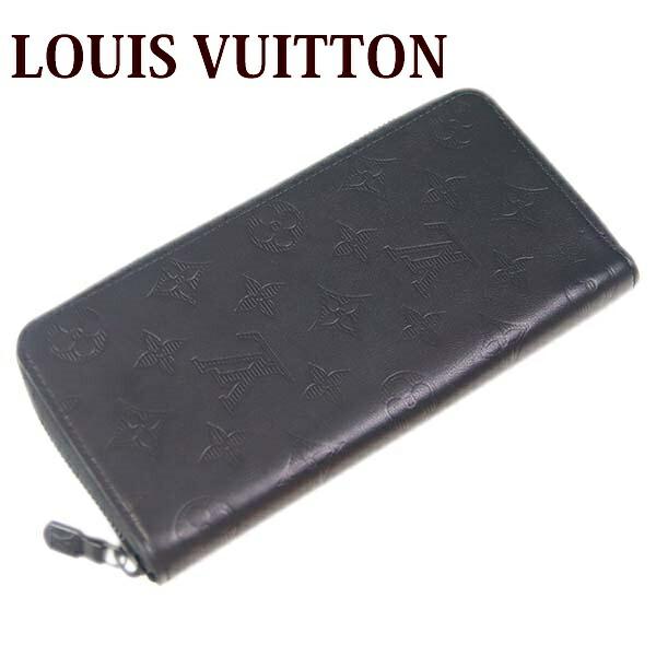 e63e4fe12105 ルイヴィトン 財布 長財布 モノグラム・シャドウ ジッピーウォレット・ヴェルティカル 【LOUIS VUITTON