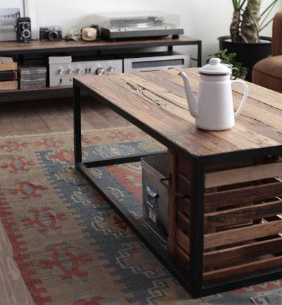 Wood Gallery ITSUKI  라쿠텐 일본: 센터 테이블 리빙 테이블 커피 ...