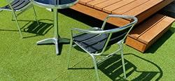 人工芝の施工方法