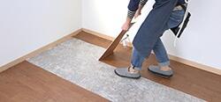 床材の剥がし方