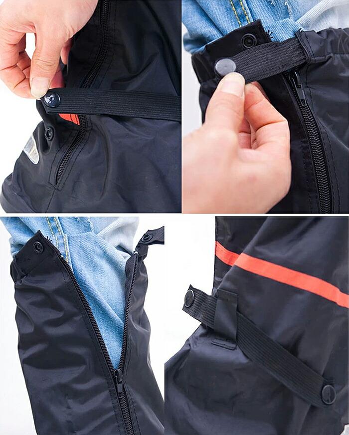 突然の雨からブーツを守る! 完全防水レインブーツカバー コンパクト収納で携帯に便利 雨・雪・通勤時・自転車・バイク・アウトドアなど ◇RAINBOOT