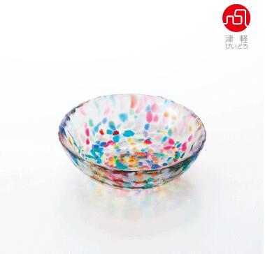 津軽びいどろNEBUTA F-71167 ねぶた 浅小鉢【アデリア】