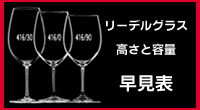 リーデル/グラスの高さと容量早見表