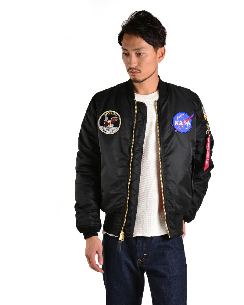 nasa apollo flight jacket - photo #9