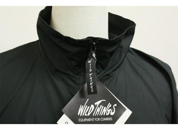 wild things(ワイルドシングス)ウインドシャツ,ウインドブレーカー,ナイロンジャケットの細部画像