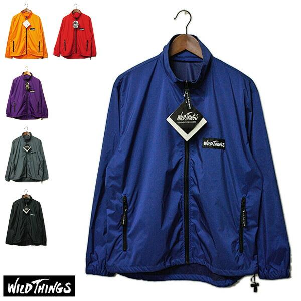 wild things(ワイルドシングス)ウインドシャツ,ウインドブレーカー,ナイロンジャケットのメイン画像