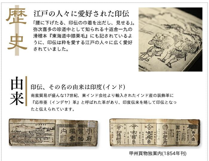 印伝の歴史