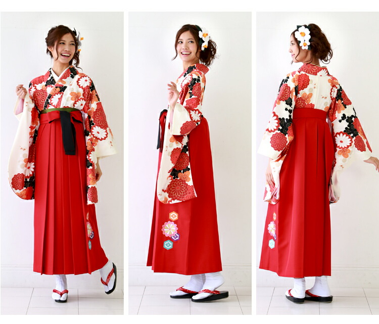 how to wear hakama female