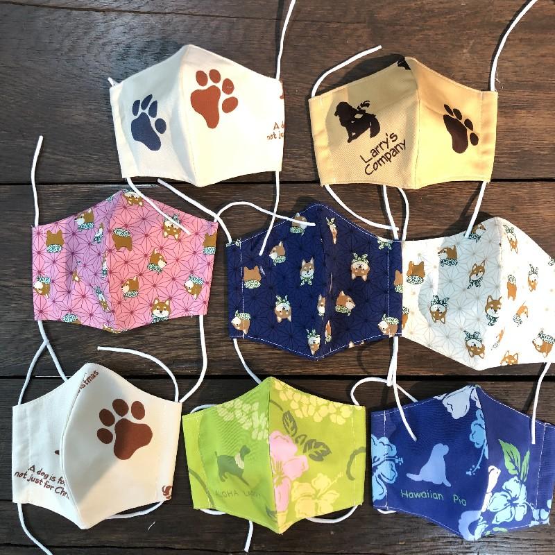 日本製の自社縫製マスク