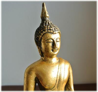 アンティーク風の黄金の仏陀 【楽天市場】【アンティーク風の黄金の仏陀】仏陀 ブッダ お釈迦様 ア