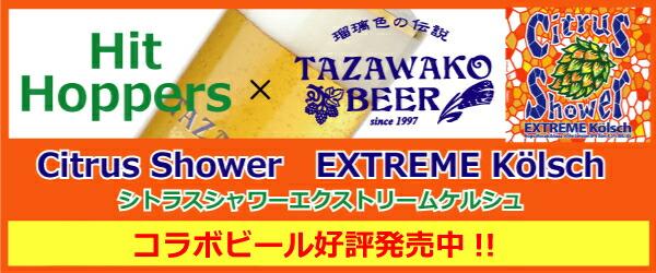 田沢湖ビールシトラスシャワーセッションIPA