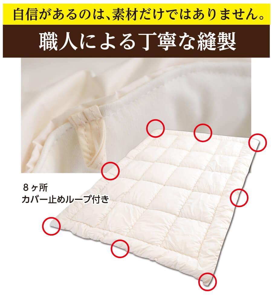 すごい掛け布団画像13 中空糸わた シングル 日本製