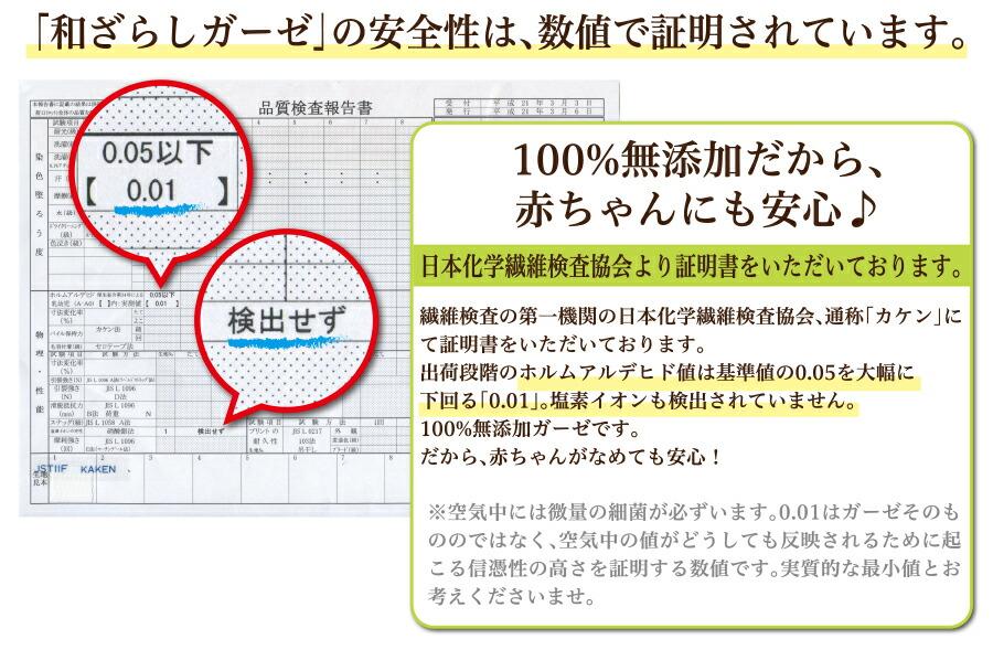 ガーゼケット 和晒し セミダブル 6重 和ざらしガーゼ ガーゼ 低ホルムアルデヒド 100%無添加