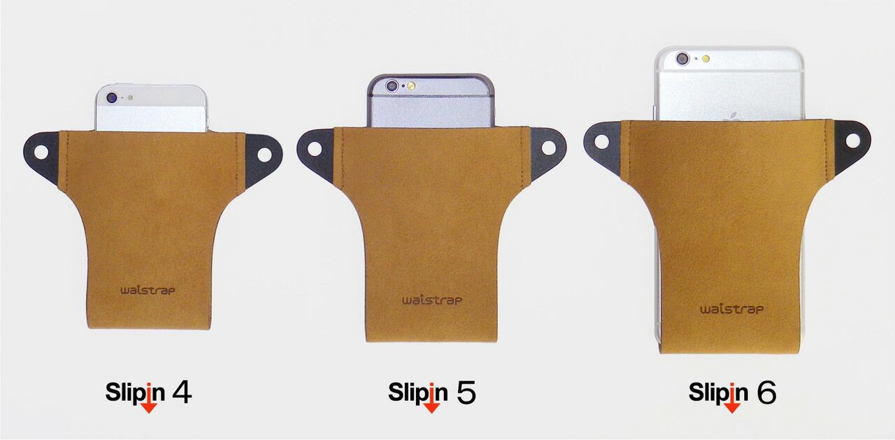iPhoneX iPhone8plus ケース ホルダー ベルト ポーチ ポシェット Slipin