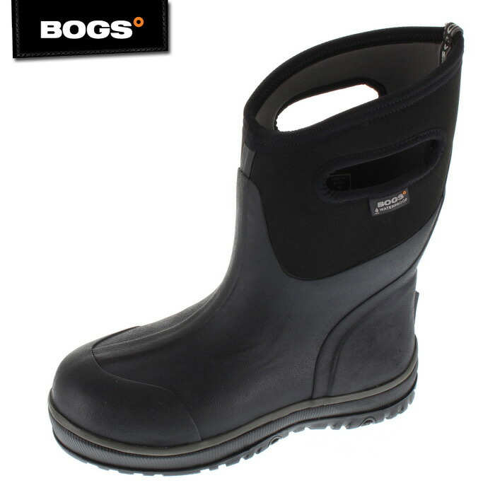 competitive price f9687 7ef33 BOGS ボグス ULTRA MID BG-51407 BLK メンズ ブーツ