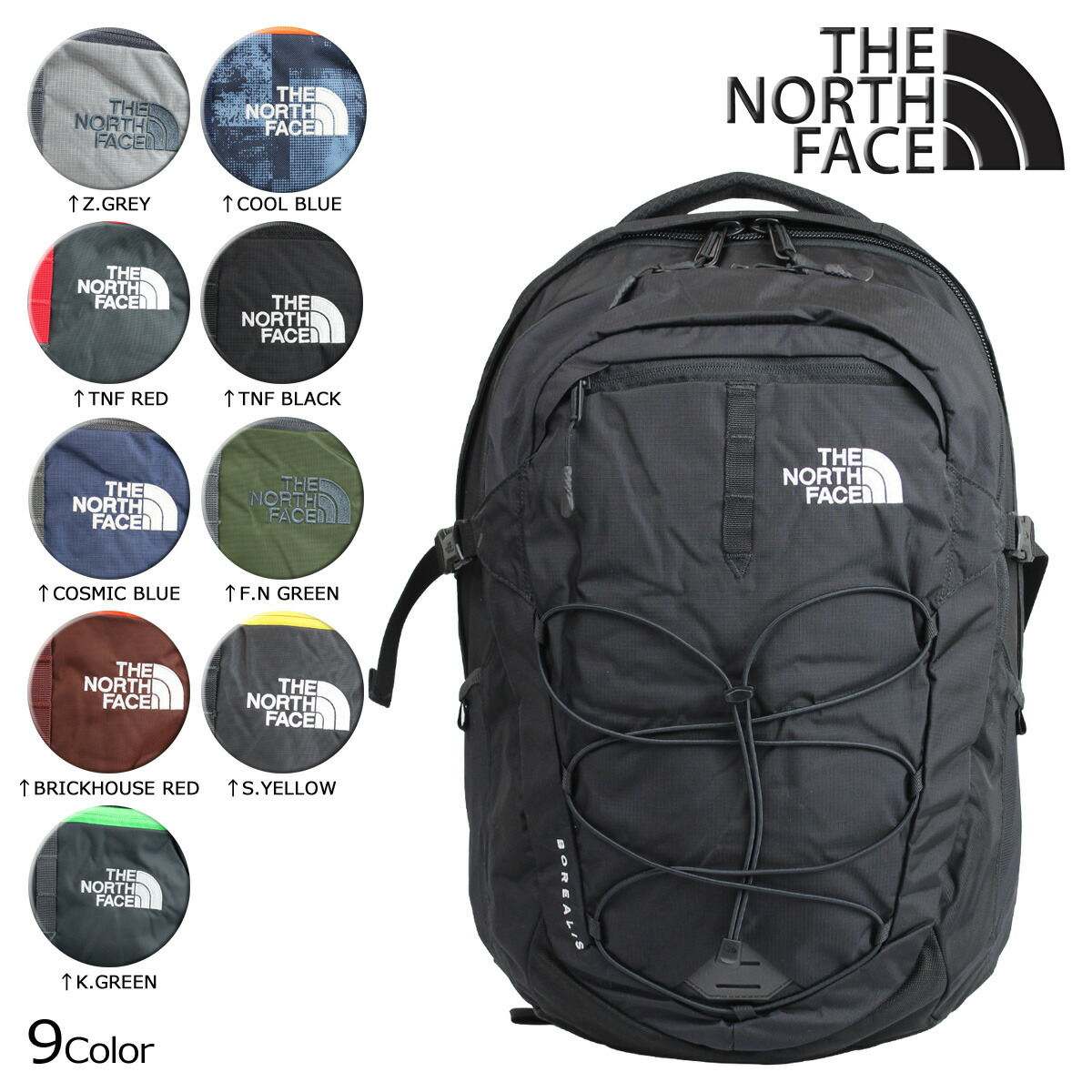 The North Face Borealis Classic Backpack Zwart- Fenix Toulouse Handball c0ea55750958