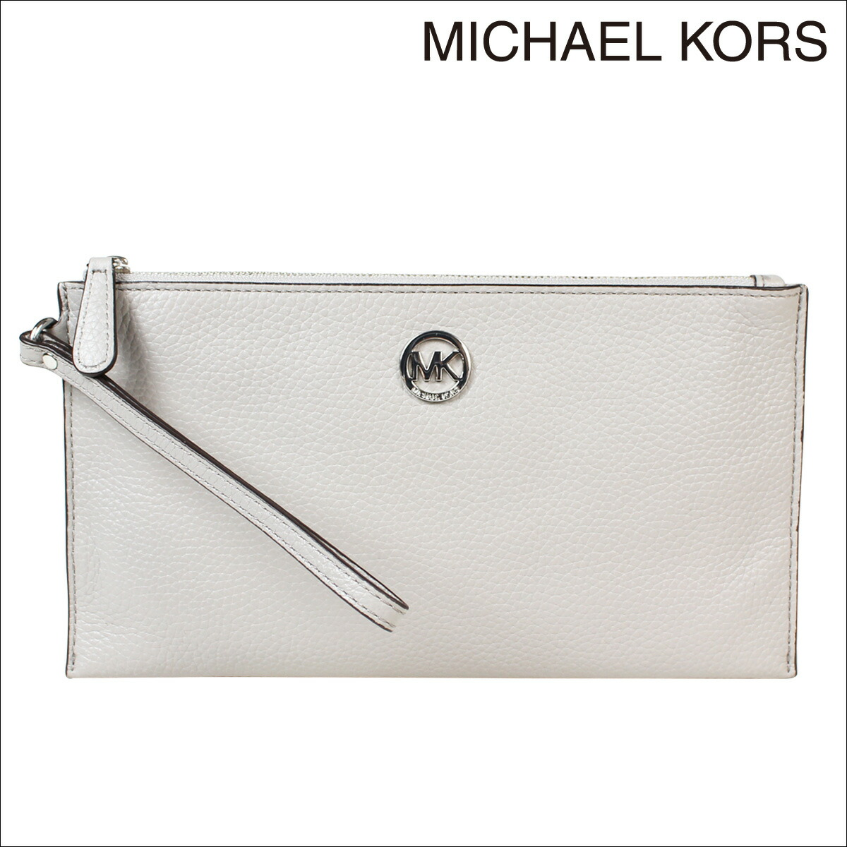 michael kors clutch grey