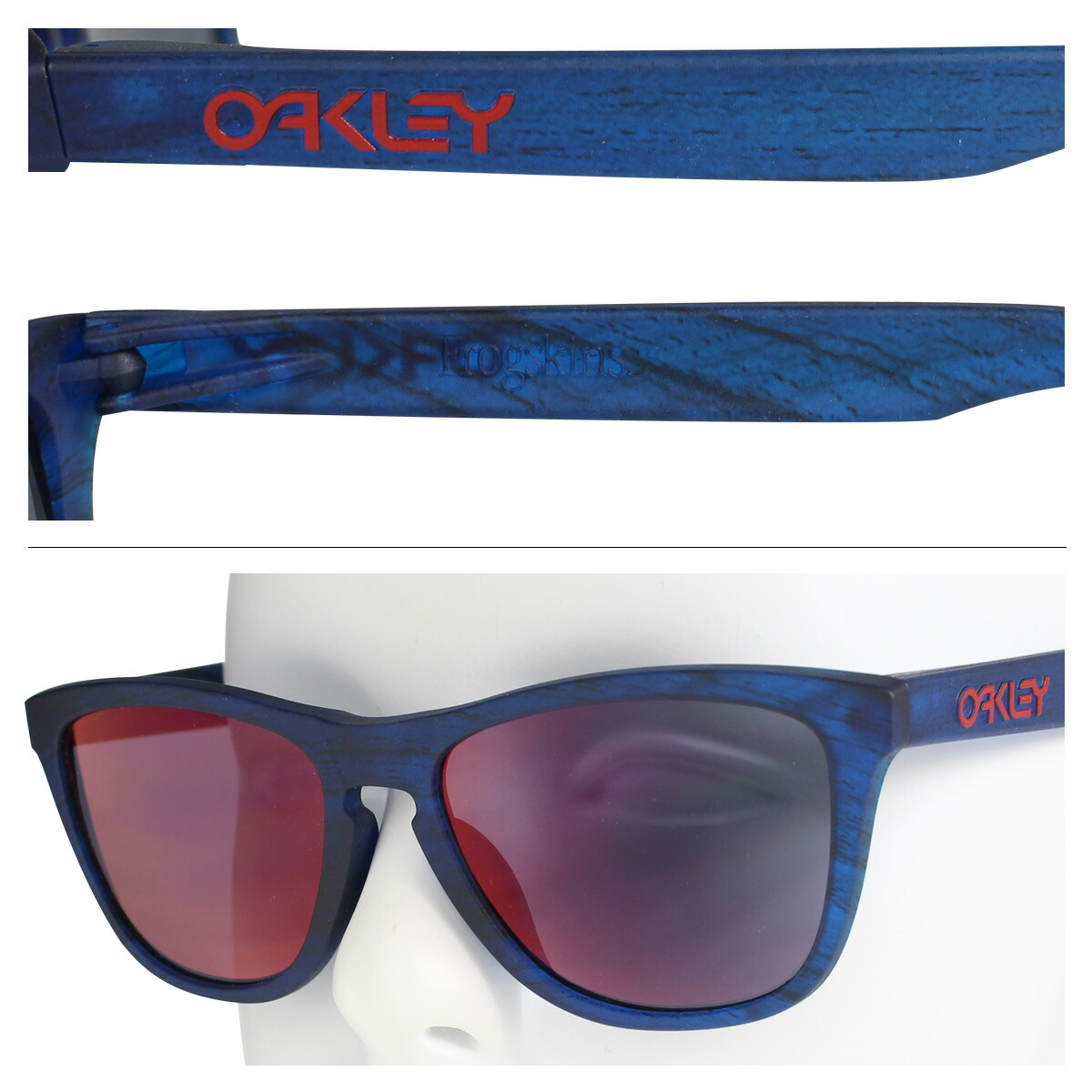 3d3e93810d  楽天市場  SOLD OUT  オークリー サングラス アジアンフィット Oakley Frogskins フロッグスキン