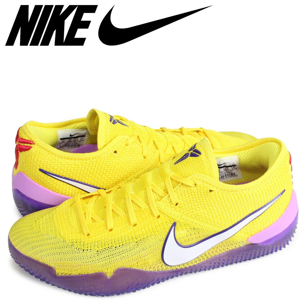 online store cdcfb f1efd NIKE KOBE AD NXT 360 YELLOW STRIKE Nike Corby sneakers men AQ1087-700 yellow