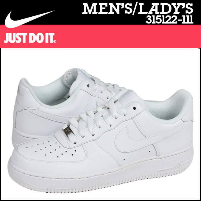 164cb3a96f0 NIKE Nike Air Force sneakers AIR FORCE 1 LOW 07 air force 1 low 315122 - 111  men s women s shoes white  8 2 Add in stock
