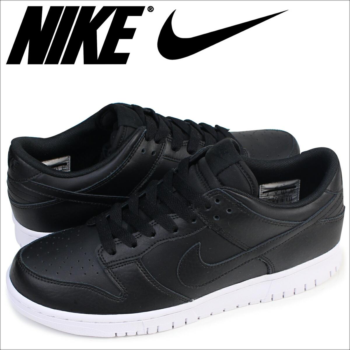super popular b008e dd071 Nike NIKE dunk low sneakers DUNK LOW men 904,234-003 shoes black [7/1  Shinnyu load]