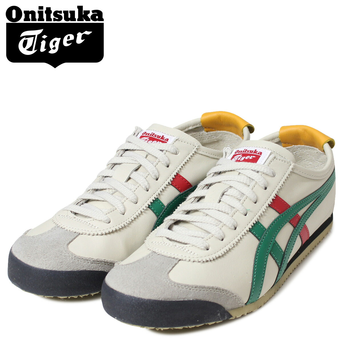 amazon limited style choose newest Onitsuka tiger Mexico 66 Onitsuka Tiger asics men gap Dis sneakers ASICS  MEXICO 66 THL202-1684 shoes are natural