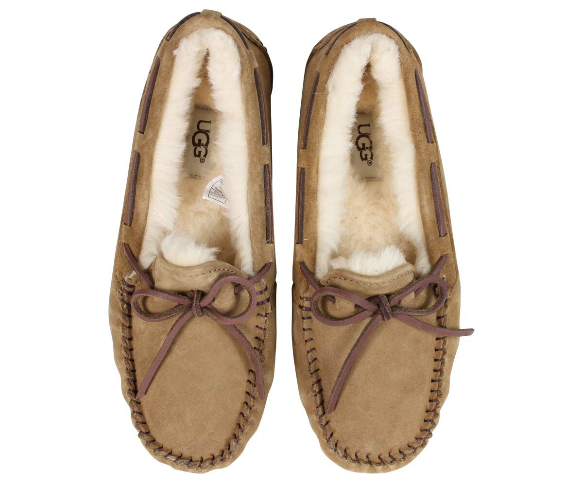 Whats Up Sports Ugg Dakota Moccasin Sheepskin Shoes Womens D Island Slip On Mocasine Casual Brown Product Description