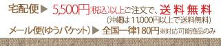 5400円以上購入で送料無料!!