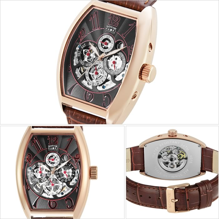 half off 8c11d 6e92a ダンディ レザー HAORI ハオリ ビジネス ブラウン 腕時計 ベルト ...