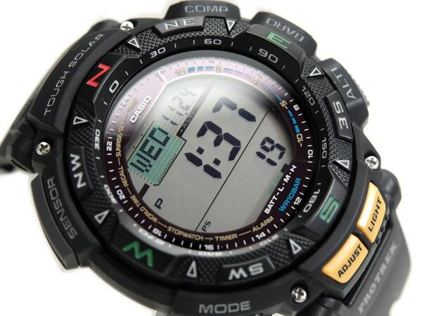 G Supply Digital Watch Black Urethane Belt Prg 240 1