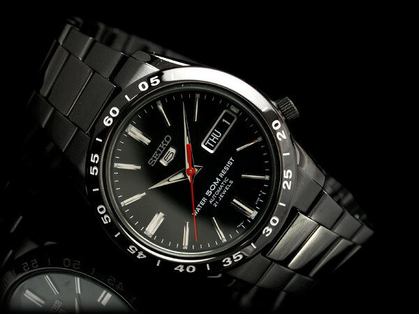 d45671542 seiko specialty store 3s: Seiko 5 mens automatic watch black dial ...
