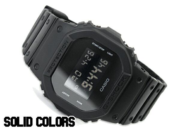 G Shock G Shock Casio Limited Solid Colors Solid Colors Digital Watch Oar Black Dw 5600bb 1 Dw 5600bb 1dr