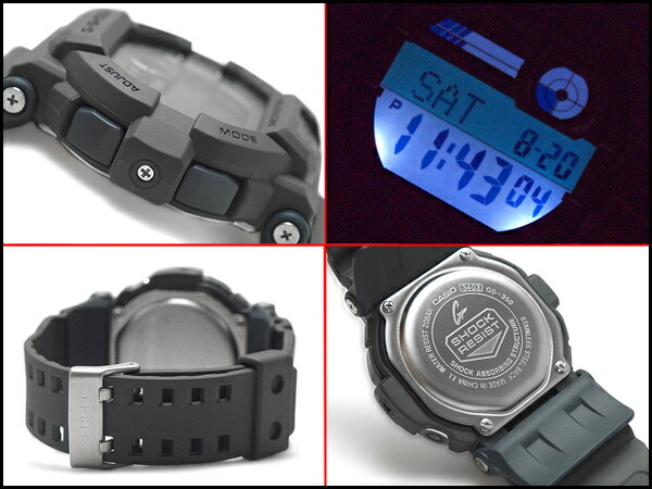 how to set time on casio watch with three buttons