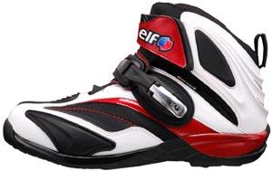 【送料無料】<br> エルフ/elf ライダーシューズSynthese14 ホワイト&レッド<br>【2010新作】【ライダース】【バイク】【メンズ】【smtb-f】<br>