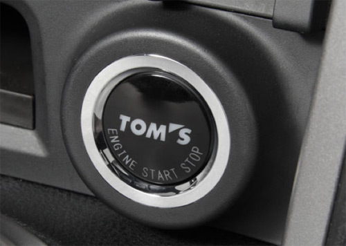 autoparts els push start button made in tom s toyota 86 zn6 for Push to Start Button tom s logo with push start button claims from the moment of engine start the car with special characteristics realized mounting in a short time and seeking