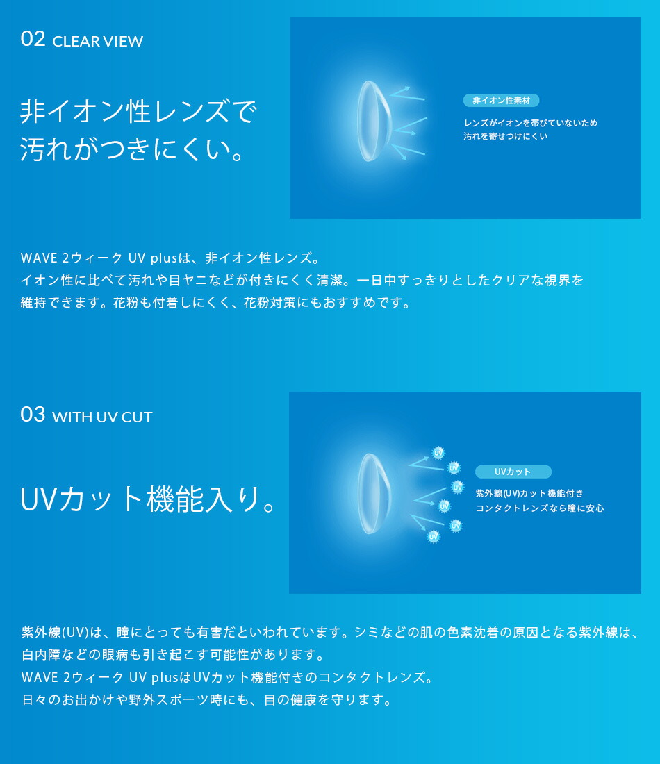 WAVE 2ウィーク UV
