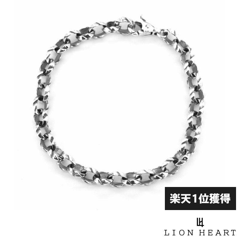 ライオンハート LION HEART ミディアム タテガミ ブレスレット シルバー925 メンズ ブランド