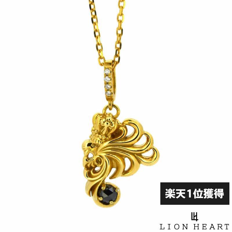 ライオンハート LION HEART 25周年限定 エグゼクティブ ハウル ネックレス K18ゴールド