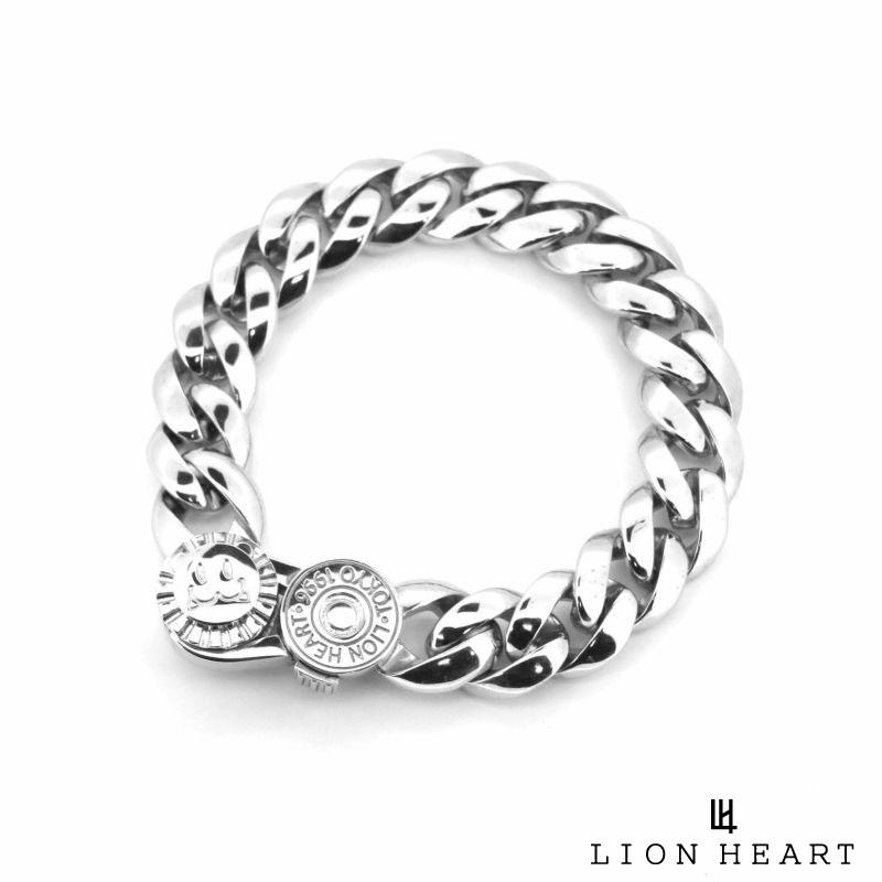 ライオンハート LION HEART ライオンハート クラシックチェーン ブレスレット シルバー925