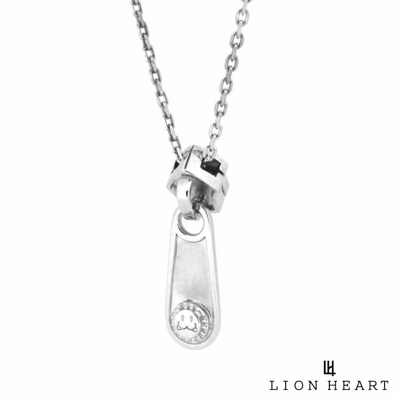 ライオンハート LION HEART ジッパー ネックレス シルバー925