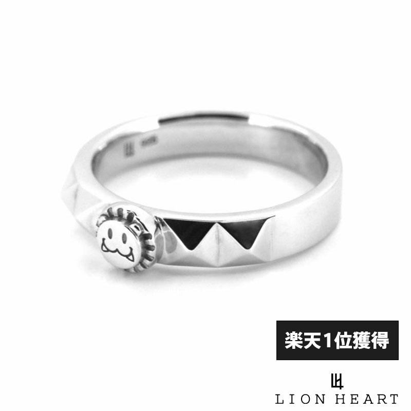 ライオンハート LION HEART スタッズ リング シルバー925 9号?21号