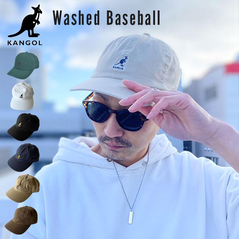 カンゴール KANGOL Washed Baseball ベースボールキャップ