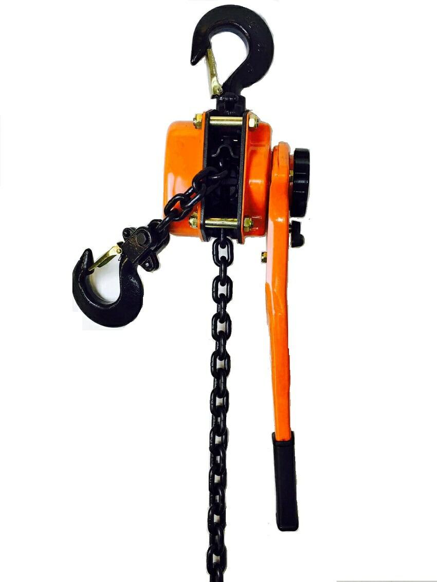 Lever hoist 1 5 TON (Lever Hoist) chain hoists manual loading press [cargo  fastening cargo fastening machine lever hoist Jack chain gotcha chain block